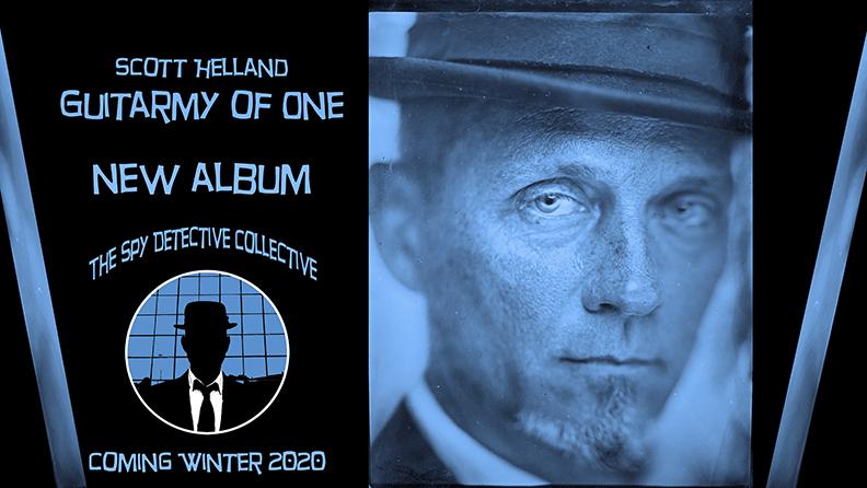 Scott Helland - Guitarmy Of One Logo
